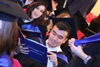 В Ташкенте состоялась торжественная церемония вручения дипломов  В Ташкенте состоялась торжественная церемония вручения дипломов выпускникам Международного Вестминстерского университета в Ташкенте